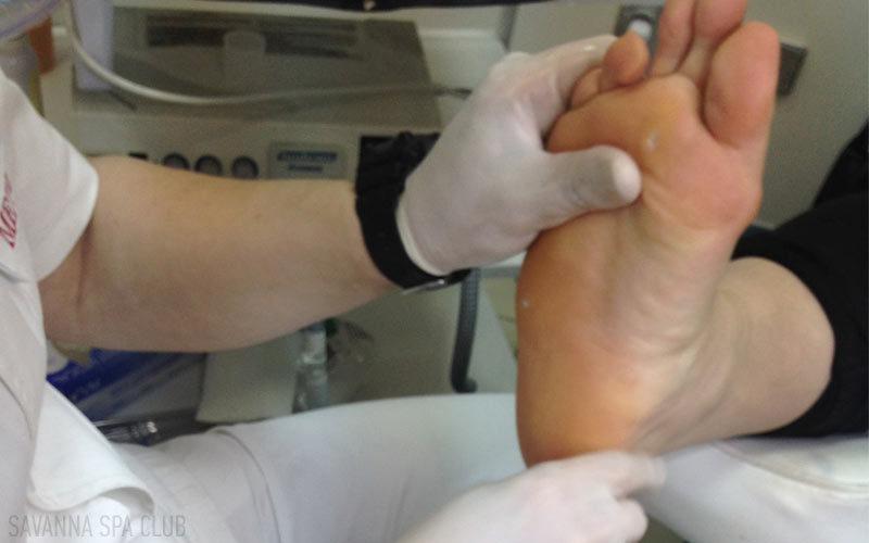 педикюр - лікування мозолів